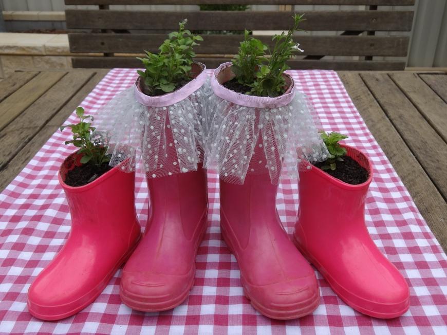 Gumboot Planters