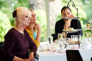 Author Di Morrisey at the High Tea - Photo courtesy of the Women's Weekly