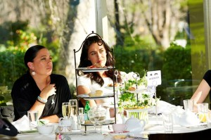 Megan Gale at the High Tea  - Photo courtesy of the Women's Weekly
